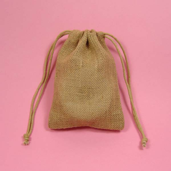 3x5 natural burlap bag-24/pk