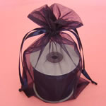 "3x4"" organza bag-30/pk, NAVY BLUE"