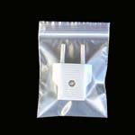 "4"" (width) x 6"" (depth) 4mil recloseable poly bag - 1000/pk-Size# 51"