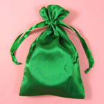 "5x8"" satin bag-30/pk, EMERALD"