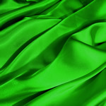 "SATIN FABRIC-60""X20yds/roll, APPLE GREEN"