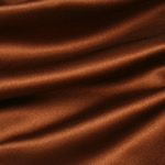 "SATIN FABRIC-60""X20yds/roll, BROWN"
