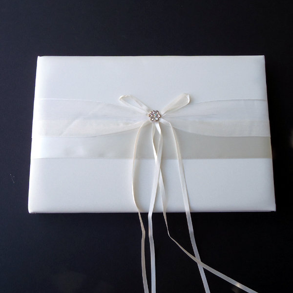wedding GUEST BOOK, IVORY